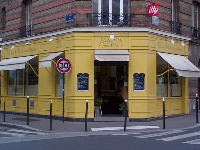 photo du restaurant vu de la rue